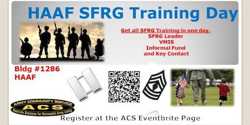 HAAF SFRG Training Day