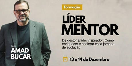 Formação Líder Mentor - 13 e 14 de Dezembro em São Paulo ingressos