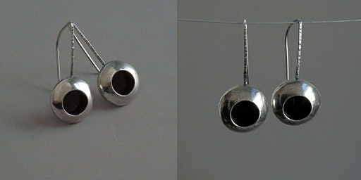 Discover Jewelry: Domed Earrings