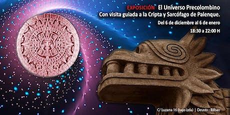 """Inauguración de la exposición """"El universo Precolombino"""" entradas"""