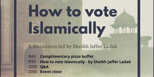 How to vote Islamically