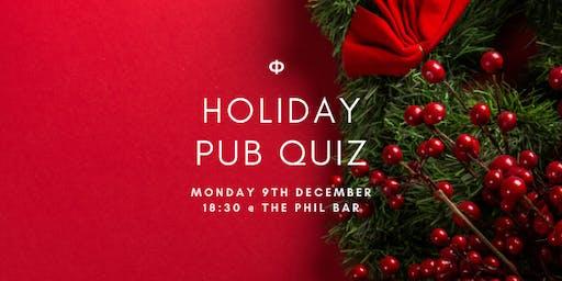 Holiday Pub Quiz | Phi Magazine