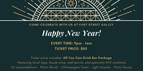 New Years Eve at Fort Street Galley tickets