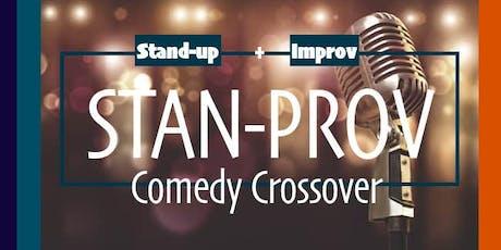 STAN-PROV: Comedy Crossover tickets
