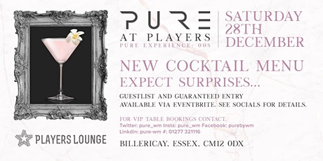 PURE at Players tickets