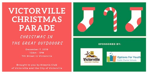 Victorville Christmas Parade - Christmas in the Great Outdoors