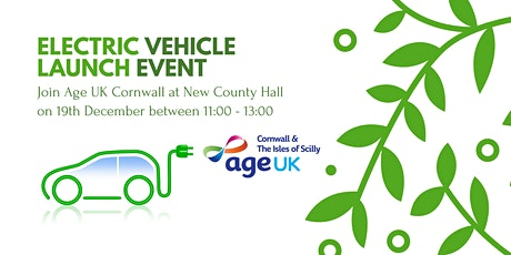 Electric Vehicle Launch Event - Age UK Cornwall & The Isles of Scilly tickets