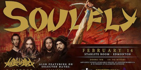 Soulfly w/ Toxic Holocaust tickets