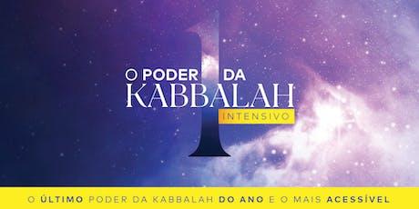 O Poder da Kabbalah 1 Intensivo | Dezembro de 2019 | RJ ingressos