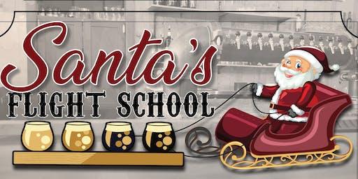 Santa's Flight School--beer tasting event