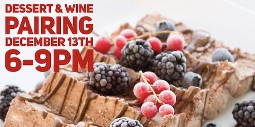 Desserts and  Wine Pairing