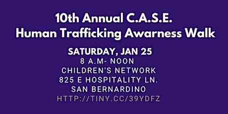 10th Annual C.A.S.E. Human Trafficking Awareness Walk tickets
