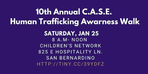 10th Annual C.A.S.E. Human Trafficking Awareness Walk
