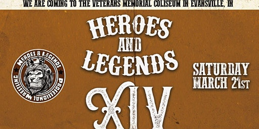 Heroes & Legends XIV Pro Wrestling at the Evansville Coliseum