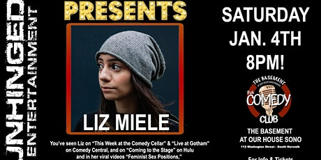 Unhinged Entertainment presents: Liz Miele tickets
