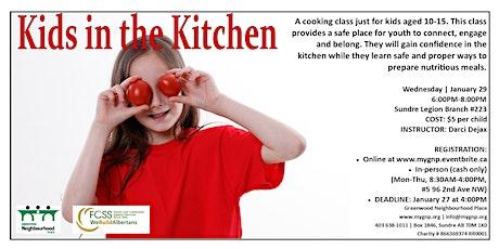 Kids in the Kitchen tickets