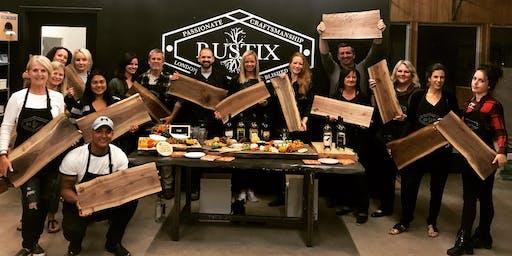 Wine & Dine Me- Charcuterie Board Workshop