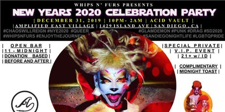 WHIPS N FURS x NEW YEARS 2020 VIP PARTY tickets