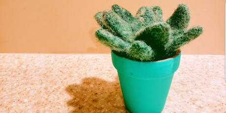 First Friday Wine'd Down: Needle Felted Succulents tickets