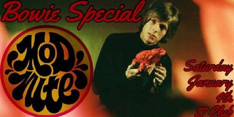 Mod Nite: 1960's Dance Party - Bowie Special! tickets