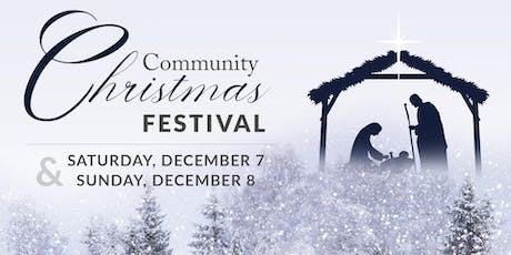 Community Christmas Festival tickets