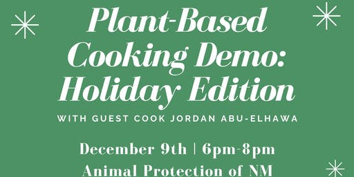 Plant-Based Cooking Demo: Holiday Edition