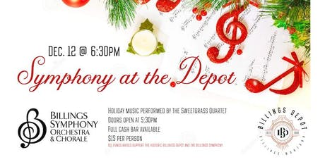 Holiday Symphony at the Depot tickets