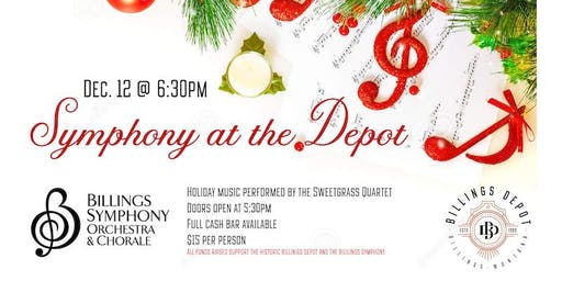 Holiday Symphony at the Depot