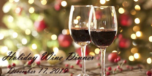 A Holiday Wine Dinner