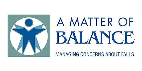 """""""A Matter of Balance"""" - Hornell Senior Center tickets"""