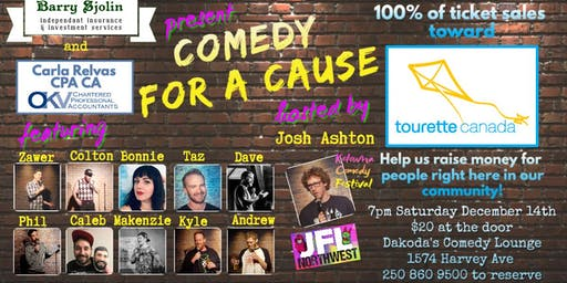 Comedy for a Cause for Tourette Canada