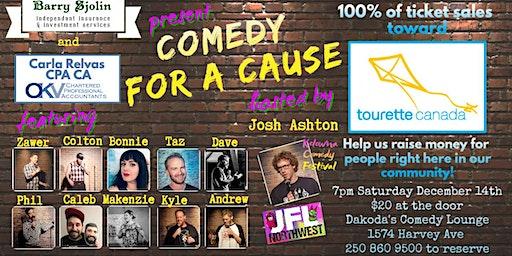 Comedy for a Cause for Tourette Canada