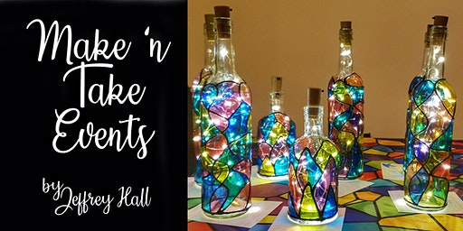 Make N Take Event - Stained Glass Bottles