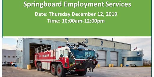 Toronto Fire Services Career Information Session