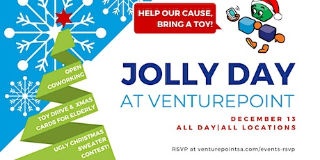 Jolly Day at VenturePoint Stone Oak tickets