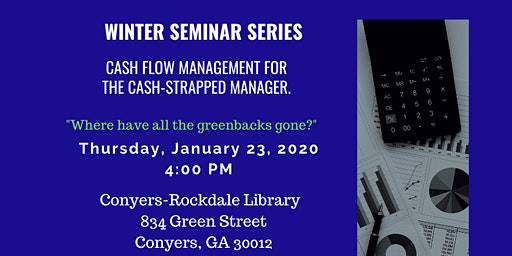 Cash Management for the Cash-strapped Manager