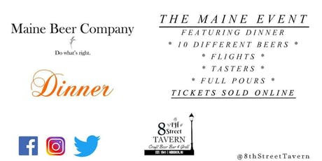 The Maine Event - Maine Beer Co. Takeover Ft. Dinner DIPA tickets