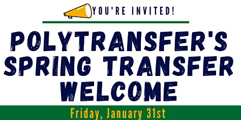 PolyTransfer Spring Transfer Welcome