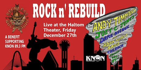 KNON's Rock N' Rebuild! tickets