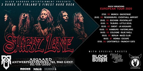 Shiraz Lane Tour 2020 l Ghent, JH Asgaard tickets