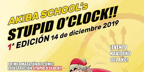1ª Edición Evento Navideño más Maratón Akiba School Stupid O' Clock entradas