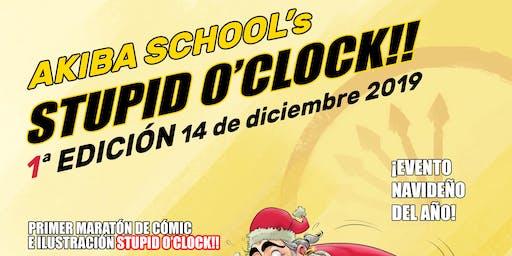 1ª Edición Evento Navideño más Maratón Akiba School Stupid O' Clock
