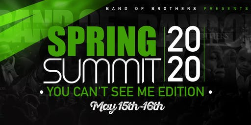 BAND OF BROTHERS SPRING SUMMIT 2020
