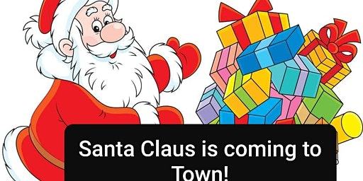 Santa Claus Is Coming To Town Christmas Market