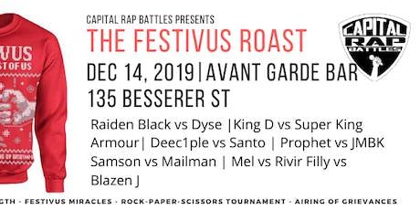 CRB Presents - 2019 Festivus Roast tickets