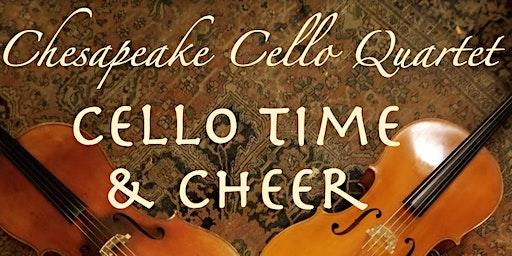 "The Chesapeake Cello Quartet Presents: ""Cello Time & Cheer"""