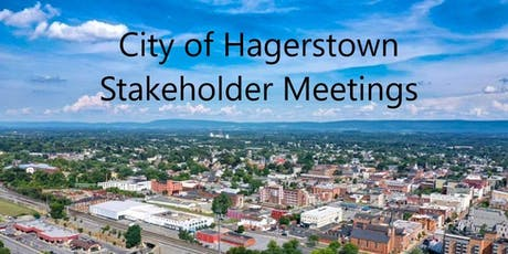 City of Hagerstown Faith Based Organizations Stakeholder Meeting tickets