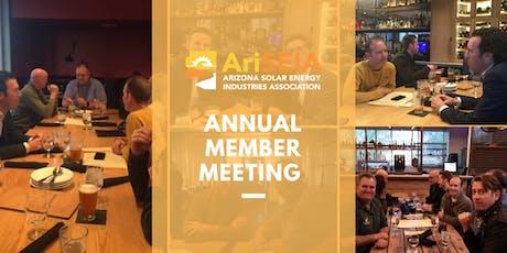 AriSEIA Annual Member Meeting tickets