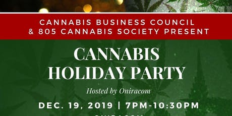 Central Coast Cannabis Holiday Party tickets