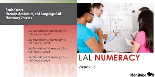 LAL Teacher Network Meeting: Numeracy Courses - April 16, 2020